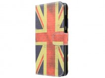 Vintage GB Flag Wallet Case - Honor 3C hoesje