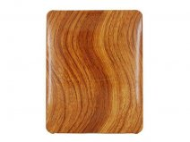 Wood Back Case Hoes voor iPad 1