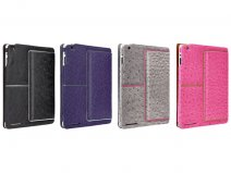 Case-Mate Venture Ostrich Leather Case voor iPad 2