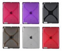 X-treme TPU Case Hoes voor iPad 2, 3 & 4