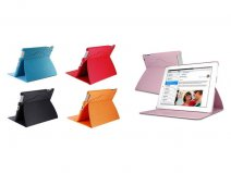 Diamond Leather Stand Case Hoes voor iPad 2, 3 & 4