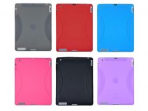 Grip Silicone Skin Hoes voor iPad 2