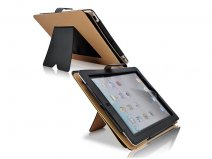 Classic Luxury Stand Case - iPad 2/3/4 Hoesje
