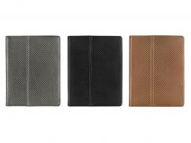 Luxury Carbon Work & Media Stand Case voor iPad 2, 3 & 4