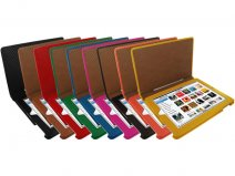 Piel Frama Magnetic Closure Leren Case voor iPad 2