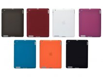 Candy Silicone Skin Hoes voor iPad 2, 3 & 4