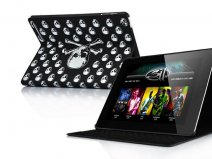 Skull Case Stand Hoes Cover voor iPad 2 (Statis)