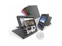 Tuff-Luv Tri-Axis Microfiber Case Hoes voor iPad 2, 3 & 4