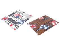 World Flags Headlines Case Hoes voor iPad 2