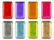 Shiny Circles Back Case voor iPhone 3G/3GS