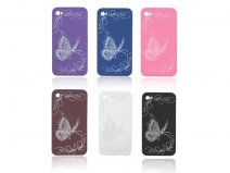 Butterfly Back Case voor iPhone 4/4S