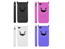 Devil Silicone Skin Case Hoesje voor iPhone 4