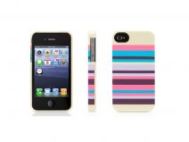 Griffin Snappy Stripes Hoesje voor iPhone 4/4S