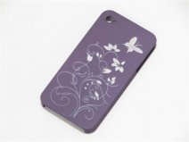 Lovely Butterflies Back Case Hoes voor iPhone 4/4S