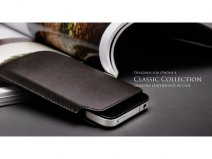 More Classic Collection Leren Sleeve iPhone 4/4S