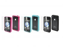 Muvit Bimat Back TPU Crystal Case voor iPhone 4/4S