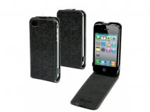 Muvit Slim Naprel Puzzle Leather Case voor iPhone 4/4S