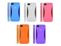 Polymer Jelly Grip TPU Case Hoes voor iPhone 4