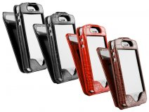 Sena WalletSkin Leren ID Card Case Hoesje voor iPhone 4/4S