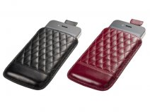 Trexta Capi Elegant Slim Leather Sleeve voor iPhone 4/4S