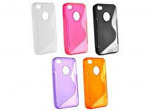 Polymer S-Line Case Hoes voor iPhone 4/4S