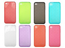 Turno Series Polymer TPU Case voor iPhone 4/4S