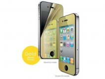 Golden Mirror Bodyprotector voor iPhone 4/4S