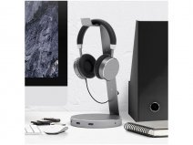 Satechi Aluminium Headphone Stand met USB-Hub
