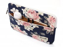 Canvaslife Floral Laptop Sleeve Navy - 15