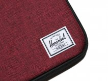 Herschel Anchor Sleeve Rood - MacBook 13 inch Hoes