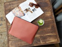 Knomo Embossed Sleeve Copper - MacBook Pro/Air 13