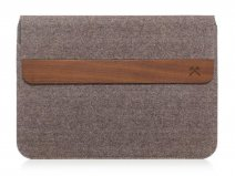 Woodcessories EcoPouch Wool & Wood - MacBook Sleeve 15