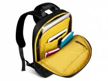 be-ez LE Swift BackPack Black/Safran - Laptoptas Rugzak