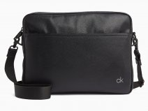 Calvin Klein Direct Messenger Laptoptas (Zwart)