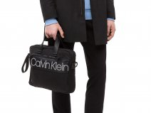 Calvin Klein Double Logo Medium Laptop Bag Laptoptas