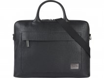 Calvin Klein Laptop Bag Textured - Laptoptas Zwart