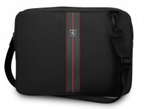 Ferrari Urban Slim Laptop Bag Zwart - Laptoptas tot 13 inch