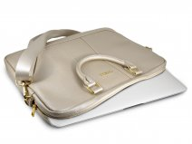 Guess Saffiano Laptop Bag Goud - Laptoptas tot 15 inch