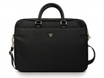 Guess Triangle Laptop Bag Zwart - Laptoptas tot 16 inch