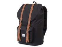 Herschel Little America Rugzak met 15 inch Laptopvak (Black/Tan)