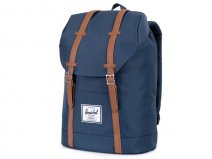 Herschel Retreat Rugzak met 15 inch Laptopvak (Navy/Tan)