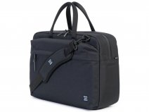 Herschel Sandford Messenger Laptoptas 15 inch - Black