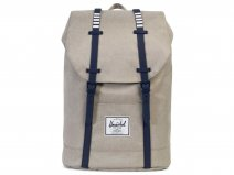 Herschel Retreat Rugzak Laptoptas - Khaki Crosshatch