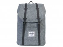 Herschel Retreat Rugzak Laptoptas - Raven Crosshatch