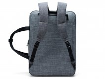 Herschel Supply Co. Gibson Large Messenger Rugzak - Raven Crosshatch