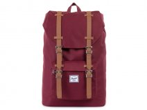 Herschel Little America Mid-Volume Rugzak (Wine/Tan)