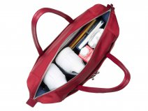 Knomo Curzon Shoulder Tote - 15 inch Laptoptas (Cherry)