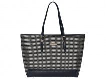 Tommy Hilfiger Laptoptas Honey Weave tot 15 inch (Navy)