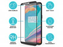 OnePlus 5T Screenprotector - 3D Curved Tempered Glass