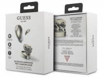 Guess Wireless Earbuds Goud - Bluetooth Oordopjes met Charging Case